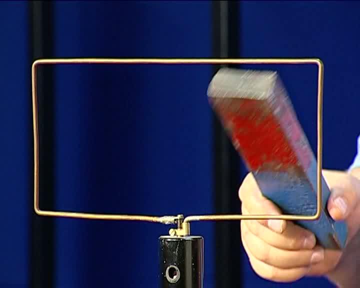 mágneses mező megfordulása